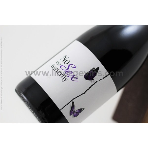 CHATEAU DE VALCOMBE - NO SEX FOR BUTTERFLY - IGP PAYS D'OC - NO SEX FOR BUTTERFLY GRENACHE 2018 AB