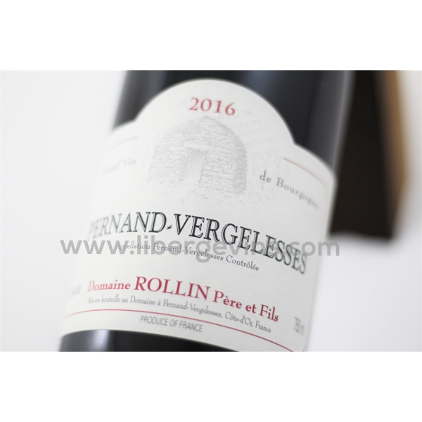 DOMAINE ROLLIN PERE & FILS - PERNAND VERGELESSES AOP ROUGE 2016