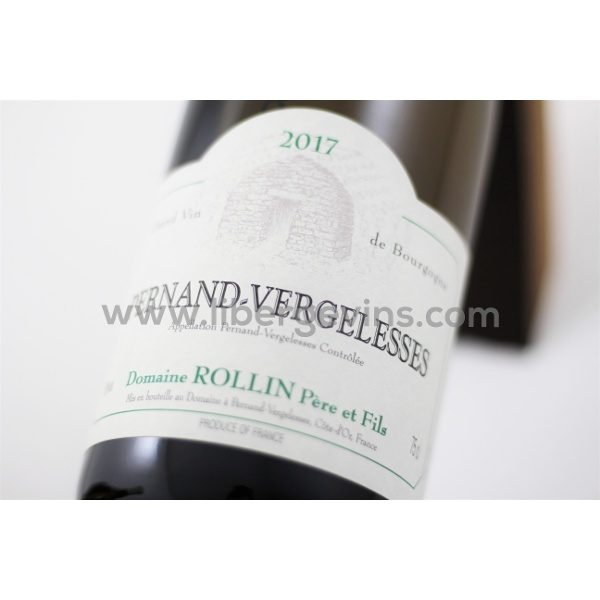DOMAINE ROLLIN PERE & FILS - PERNAND VERGELESSES AOP BLANC 2017