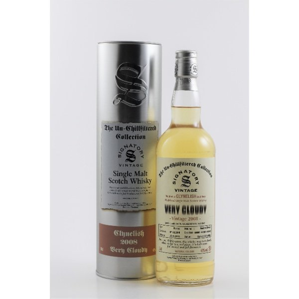 - CLYNELISH - VERY CLOUDY VINTAGE 2008 + ETUI - Single Malt Whisky